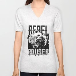 Rebel Rouser Unisex V-Neck