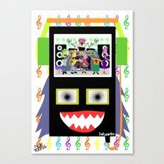 I disco Piff  Canvas Print
