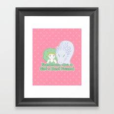 Summons are a Girl's Best Friend Framed Art Print