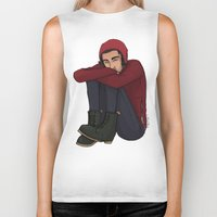 zayn Biker Tanks featuring Comfy Zayn by Ashley R. Guillory