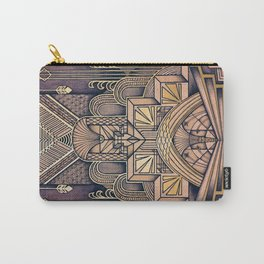 Art Deco Design Carry-All Pouch