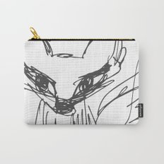 Fox Sketch Carry-All Pouch