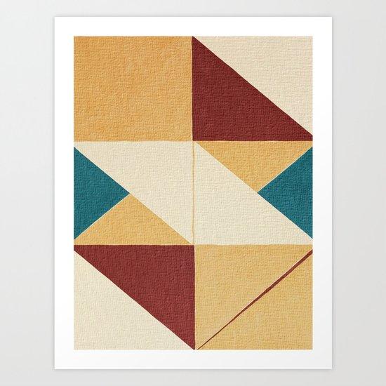 Geometric Thoughts 10 Art Print