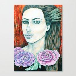Miss Tsar Canvas Print