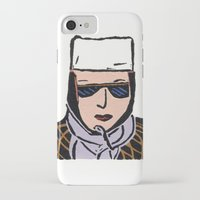 cassandra jean iPhone & iPod Cases featuring Jean by Shelley Savor