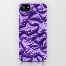 Funky Alien Brain 2D iPhone Case