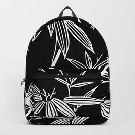 White Bamboo Backpack