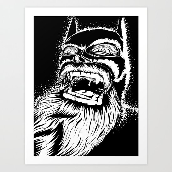 Too old for this job. Art Print
