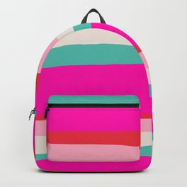 Candy Stripe Christmas Backpack