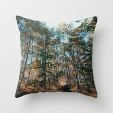 into the woods 10 Throw Pillow