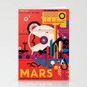 NASA Retro Space Travel Poster #9 Mars by fineearthprints