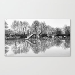 Flooded playground Canvas Print