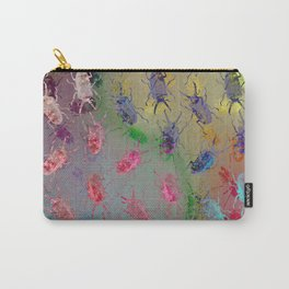 shiny stag beetles Carry-All Pouch