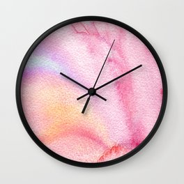 Nebulous Watered Wall Clock