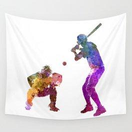 baseball players 01 Wall Tapestry