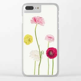 whispering spring Clear iPhone Case