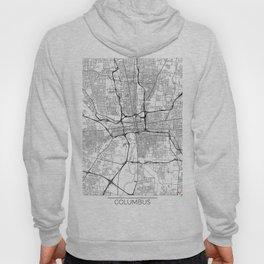 Columbus Map White Hoody