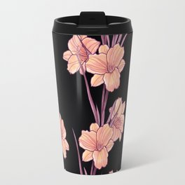Good Night Floral Travel Mug
