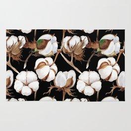 Cotton Flower Pattern 04 Rug