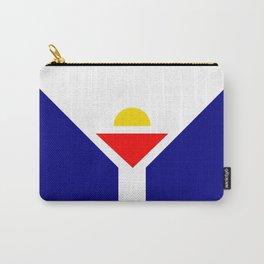 Saint Martin Flag Carry-All Pouch