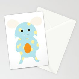 Little Monster 3 Stationery Cards
