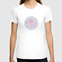 hexagon T-shirts featuring Hexagon by BoxEstudio
