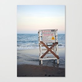 Guard Tower Canvas Print