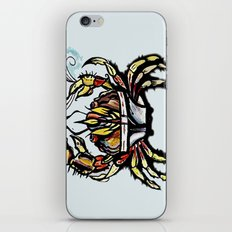 BEWARE :crabs in underwear  iPhone & iPod Skin