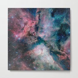 Carina Nebula - The Spectacular Star-forming Metal Print