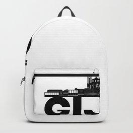 Gijon Spain Skyline Gift Idea Backpack