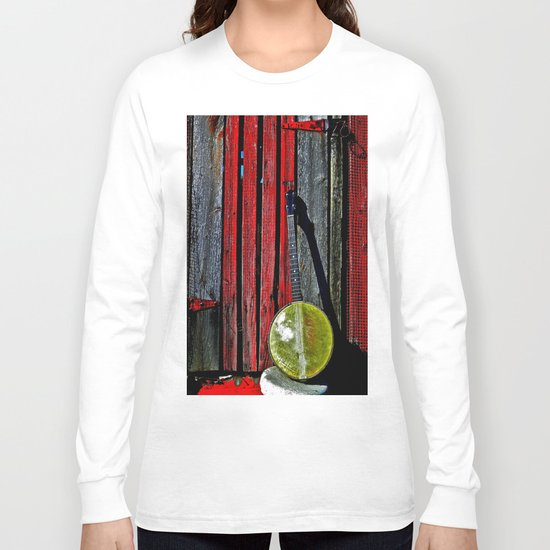 The Conductor's Banjo Long Sleeve T-shirt