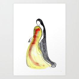 character VIII Art Print