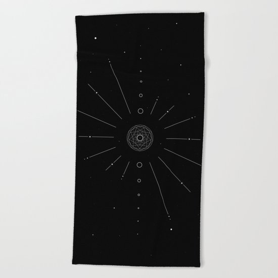 Stellar Evolution Beach Towel