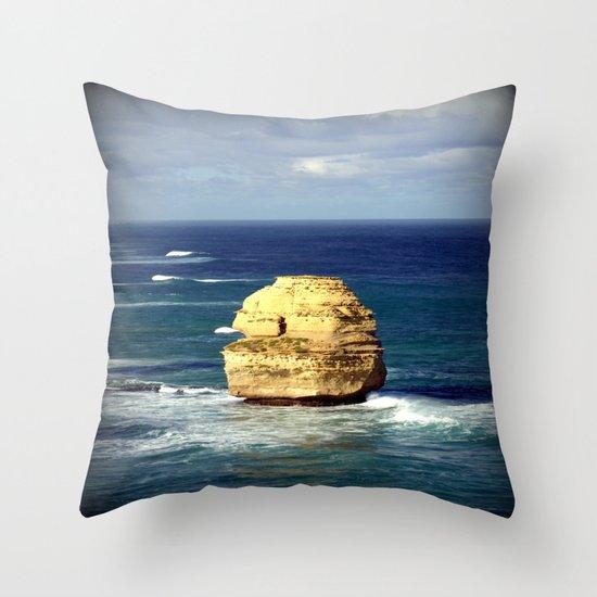 Limestone Rock Throw Pillow