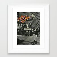 lost in translation Framed Art Prints featuring Lost In Translation by Nico Padayhag