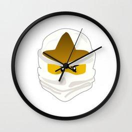 Ninjago Face Zane Wall Clock