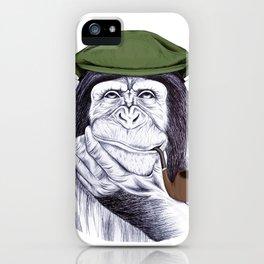 Wise Mr. Chimp iPhone Case