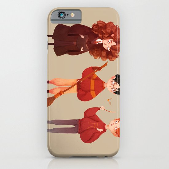 Friendship and Bravery iPhone & iPod Case