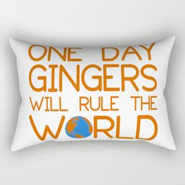 gingers world Rectangular Pillow