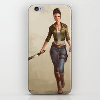 grace iPhone & iPod Skins featuring Grace by Kelly Perry