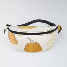 Orange and Yellow Pumpkins Fanny Pack