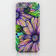 Purple Daisies iPhone 6s Slim Case