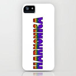 Rainbow Harmonica iPhone Case