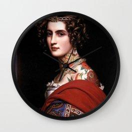 Classical Art Tattooed #2 - Joseph Karl Stieler Wall Clock