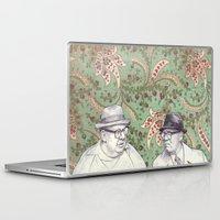 men Laptop & iPad Skins featuring Old Men by Jason Ratliff