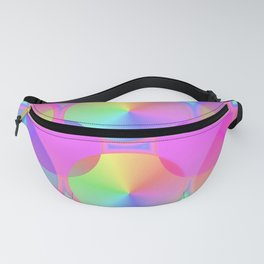Light colored circles ... Fanny Pack