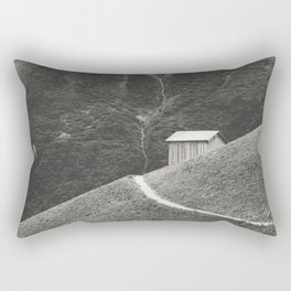 HILLSIDE HUT Rectangular Pillow