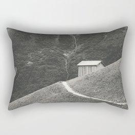 HILLSIDE HUT Rectangular Pillow