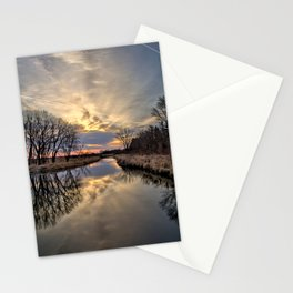 Easter River 3 Stationery Cards