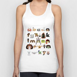 ABC3PO Episode II Unisex Tank Top